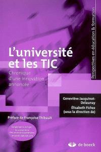 L'université et les TIC : chronique d'une innovation annoncée