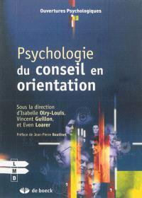Psychologie du conseil en orientation