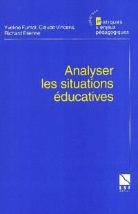 Analyse des situations éducatives