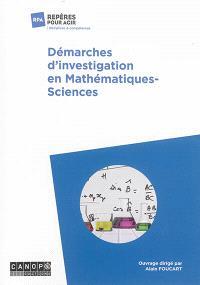 Démarches d'investigation en mathématiques-sciences