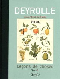 Deyrolle : leçons de choses. Volume 2