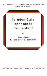 La Géométrie spontanée de l'enfant