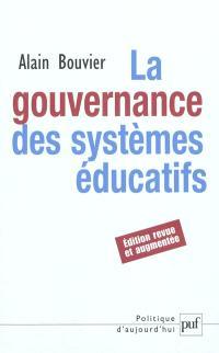 La gouvernance des systèmes éducatifs