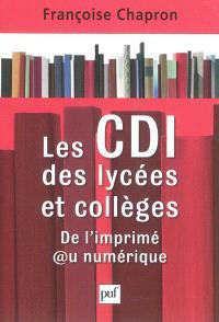 Les CDI des lycées et collèges : de l'imprimé au numérique