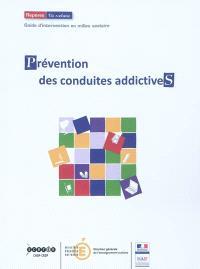 Prévention des conduites addictives : guide d'intervention en milieu scolaire