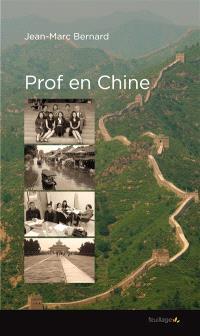 Prof en Chine