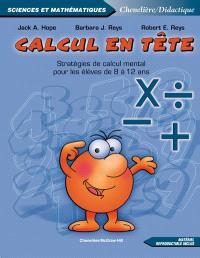 Calcul en tête  : stratégies de calcul mental pour les élèves de 8 à 12 ans