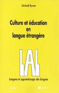 Culture et éducation en langue étrangère