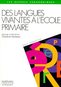 Des langues vivantes à l'école primaire