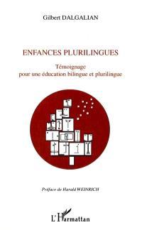 Enfances plurilingues : témoignage pour une éducation bilingue et plurilingue