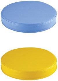 Galettes bleu et jaune