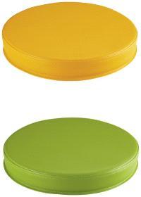 Galettes orange et vert