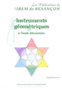 Instruments géométriques à l'école primaire