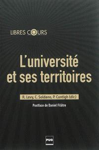L'université et ses territoires : dynamismes des villes moyennes et particularités de sites