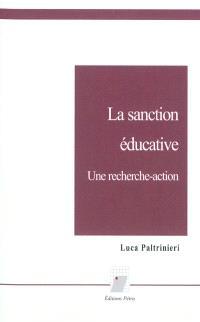 La sanction éducative : une recherche-action