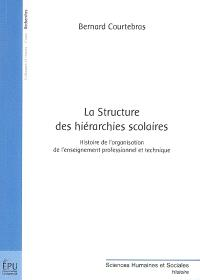 La structure des hiérarchies scolaires : histoire de l'organisation de l'enseignement professionnel et technique