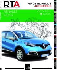 Revue technique automobile. n° 806, Renault captur : 0.9i (90 ch)