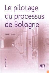 Le pilotage du processus de Bologne
