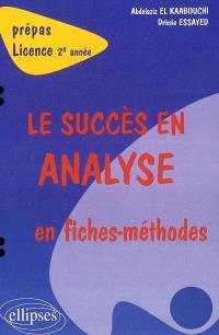 Le succès en analyse