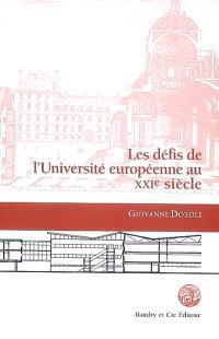 Les défis de l'université européenne au XXIe siècle