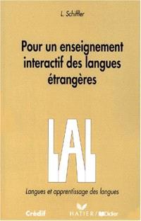 Pour un enseignement interactif des langues