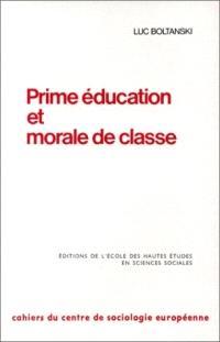 Prime éducation et morale de classe