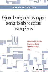 Repenser l'enseignement des langues : comment identifier et exploiter les compétences ?