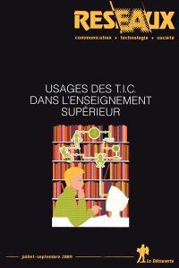 Réseaux. n° 155, Usages des TIC dans l'enseignement supérieur