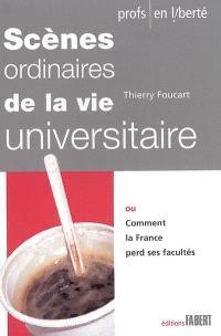 Scènes ordinaires de la vie universitaire ou Comment la France perd ses facultés