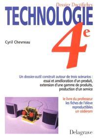 Technologie 4e dossier ductifiches : horloge à cristaux liquides
