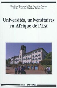 Universités, universitaires en Afrique de l'Est