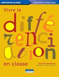 Vivre la différenciation en classe