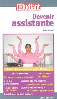 Devenir assistante