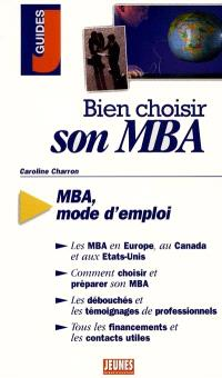 Bien choisir son MBA