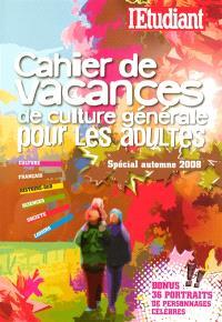 Cahier de culture générale. Volume 2
