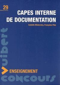 Capes interne de documentation