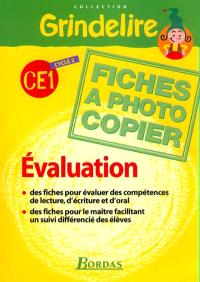 Grindelire CE1 : évaluation