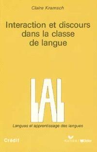 Interaction et discours dans la classe de langue