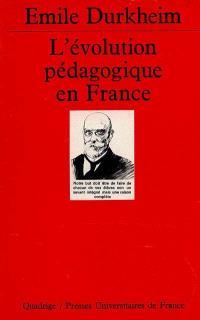 L'Evolution pédagogique en France