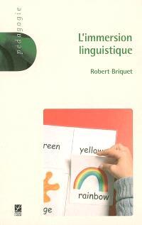 L'immersion linguistique
