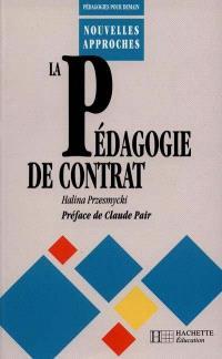 La Pédagogie du contrat