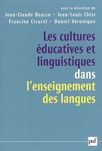 Les cultures éducatives et linguistiques dans l'enseignement des langues