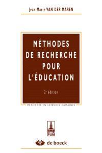 Méthodes de recherche pour l'éducation