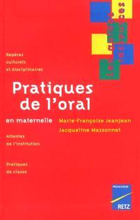 Pratiques de l'oral en maternelle