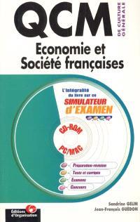 QCM de culture générale. Volume 2, Économie et société françaises
