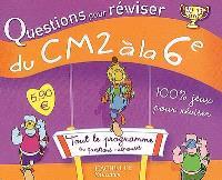 Questions pour réviser, du CM2 à la 6e, 10-11 ans