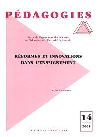 Réformes et innovations dans l'enseignement