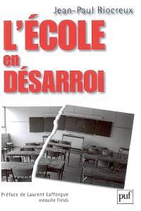 L'école en désarroi
