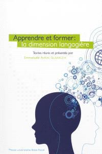 Apprendre et former : la dimension langagière
