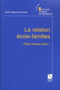 La relation école-familles : peut mieux faire